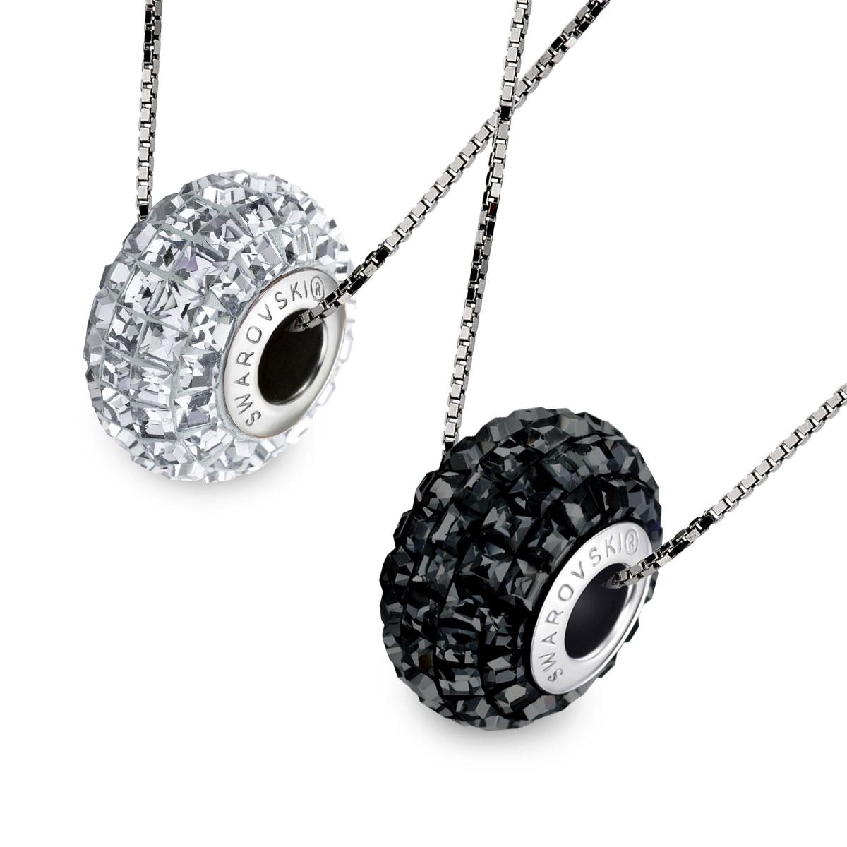 A508 施華洛世奇水晶晶燦項鍊