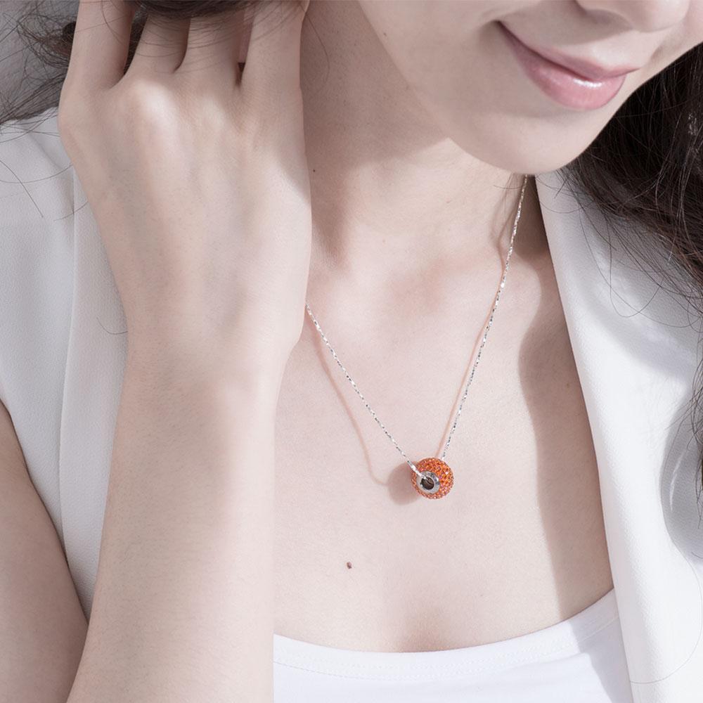 A514 施華洛世奇水晶唯美項鍊