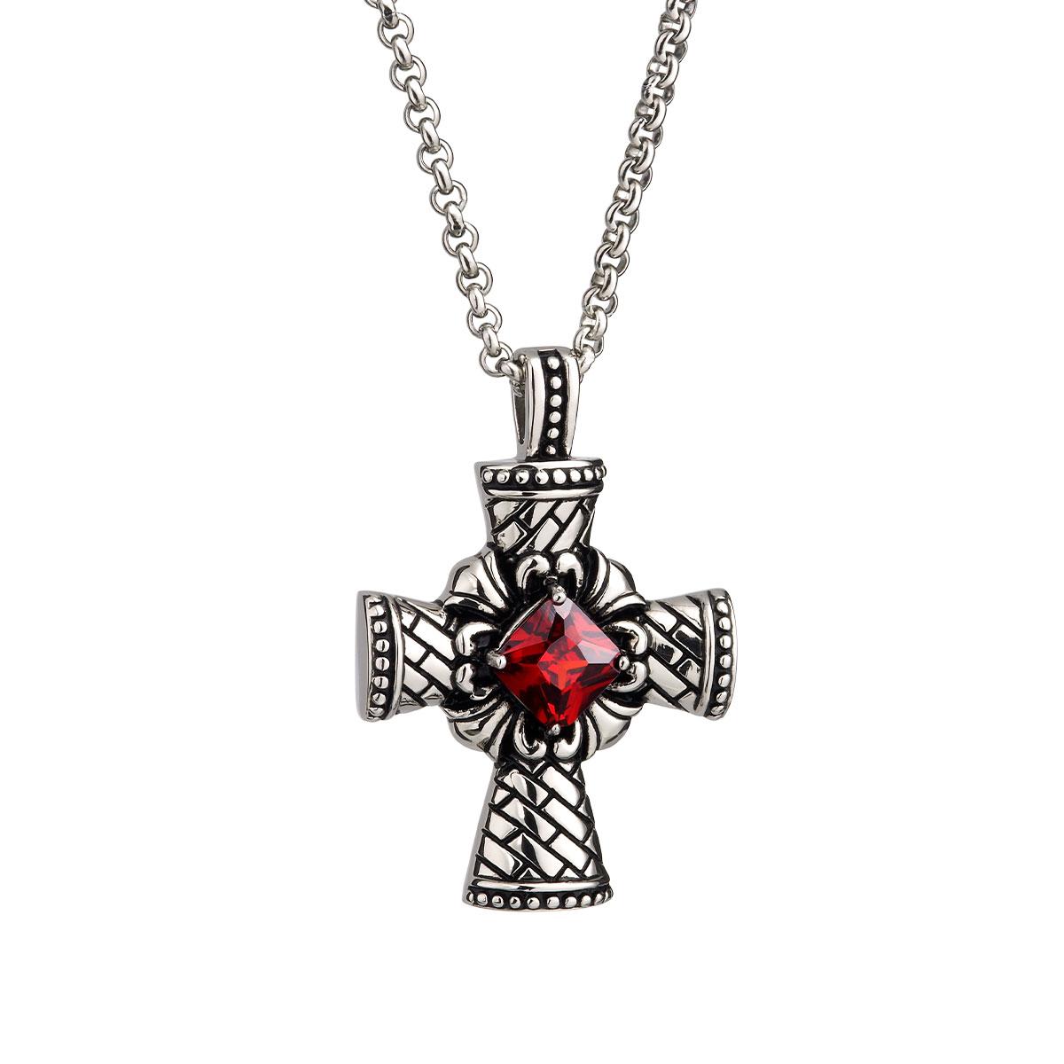 AE64 聖光十字個性項鍊