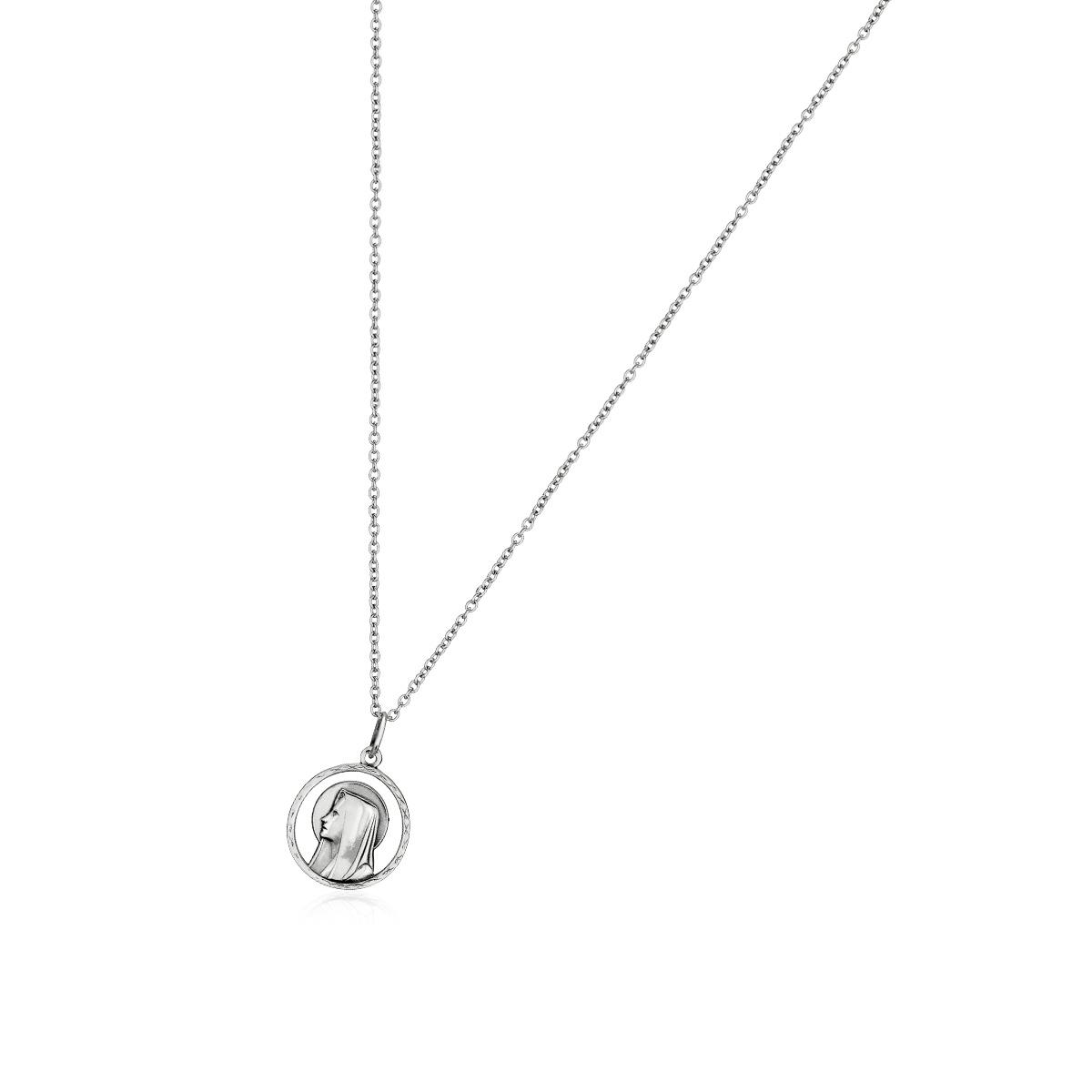 AS52 瑪麗亞的凝望簡約長項鍊