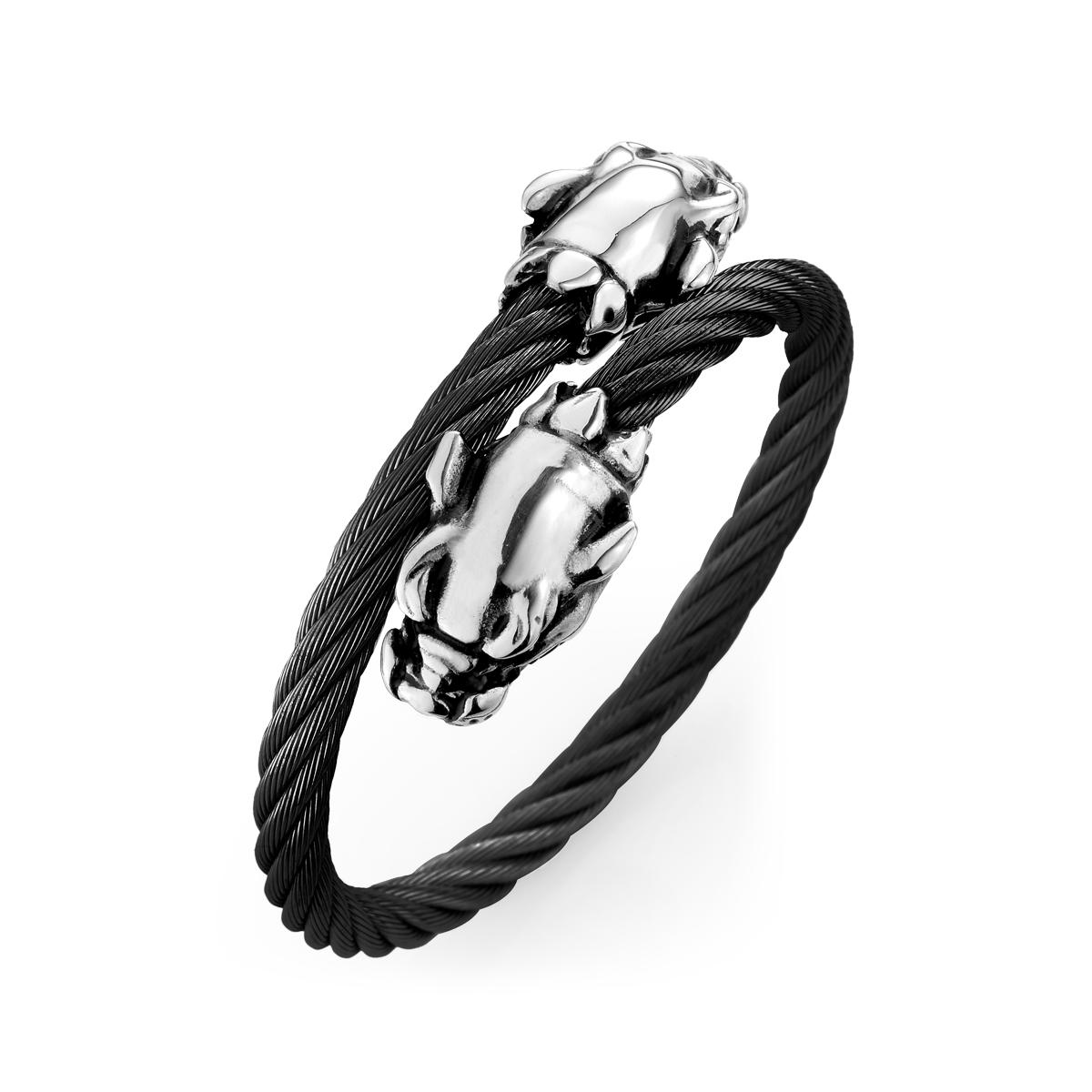 C133 粗獷豹造型手環