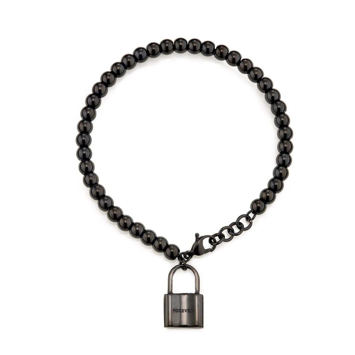CIXM180 點滴意象-心鎖串珠手鍊