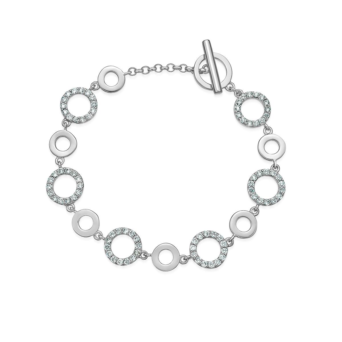 CS45 璀璨軌跡-幸福串聯幾何圓手鍊