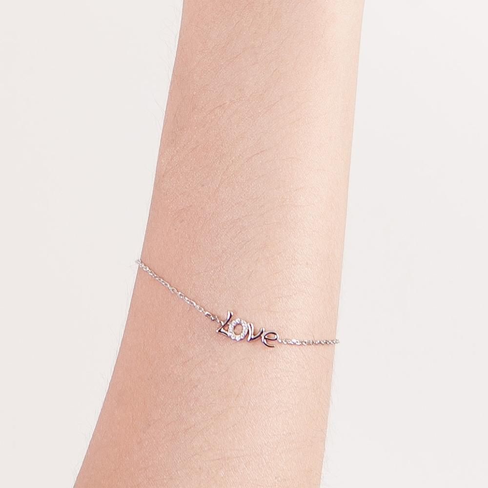 CS47 璀璨軌跡-氣質愛戀字母手鍊