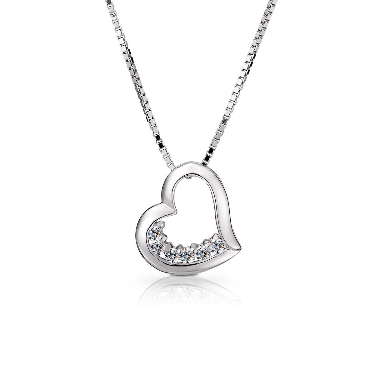 D116 永恆的愛氣質心型項鍊