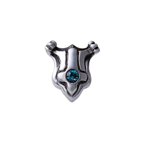 EA120 騎士盾耳環/單隻販售