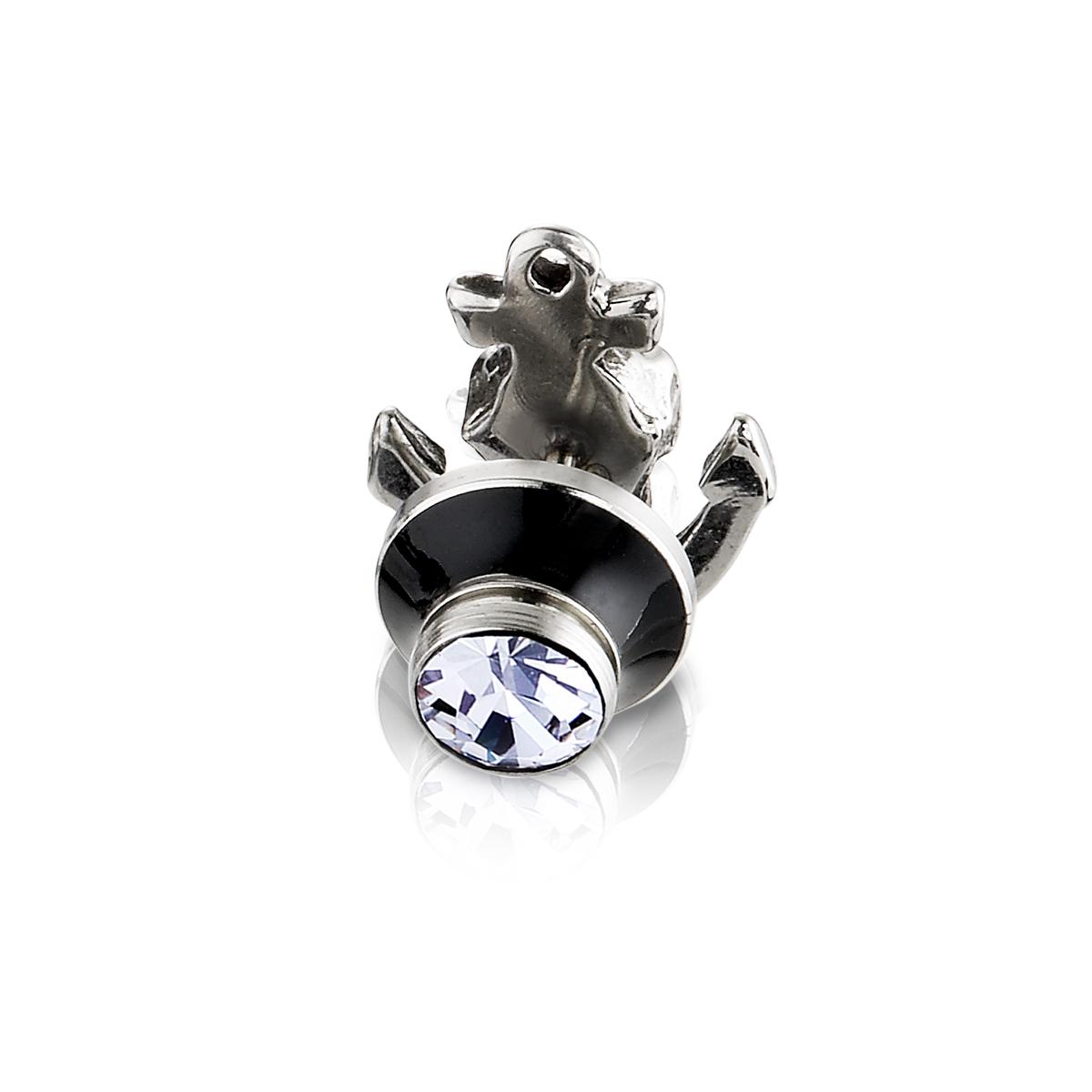 EA134 加勒比海骷髏騎士耳環/單隻販售