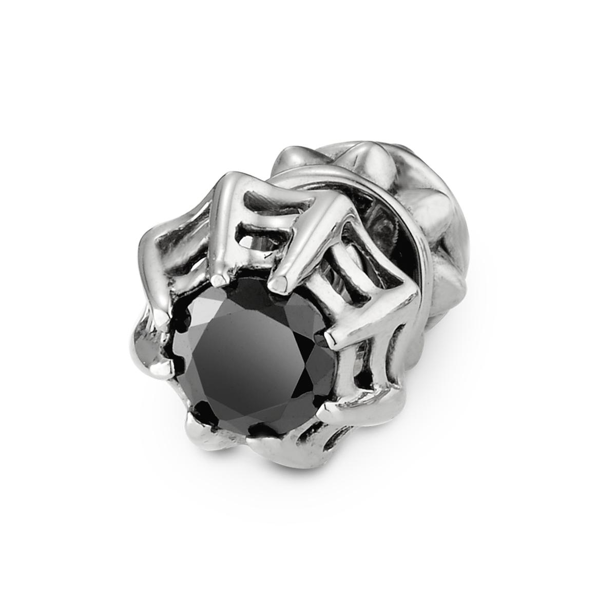 EA154 個性雙向塔狀美鑽耳環/單隻販售