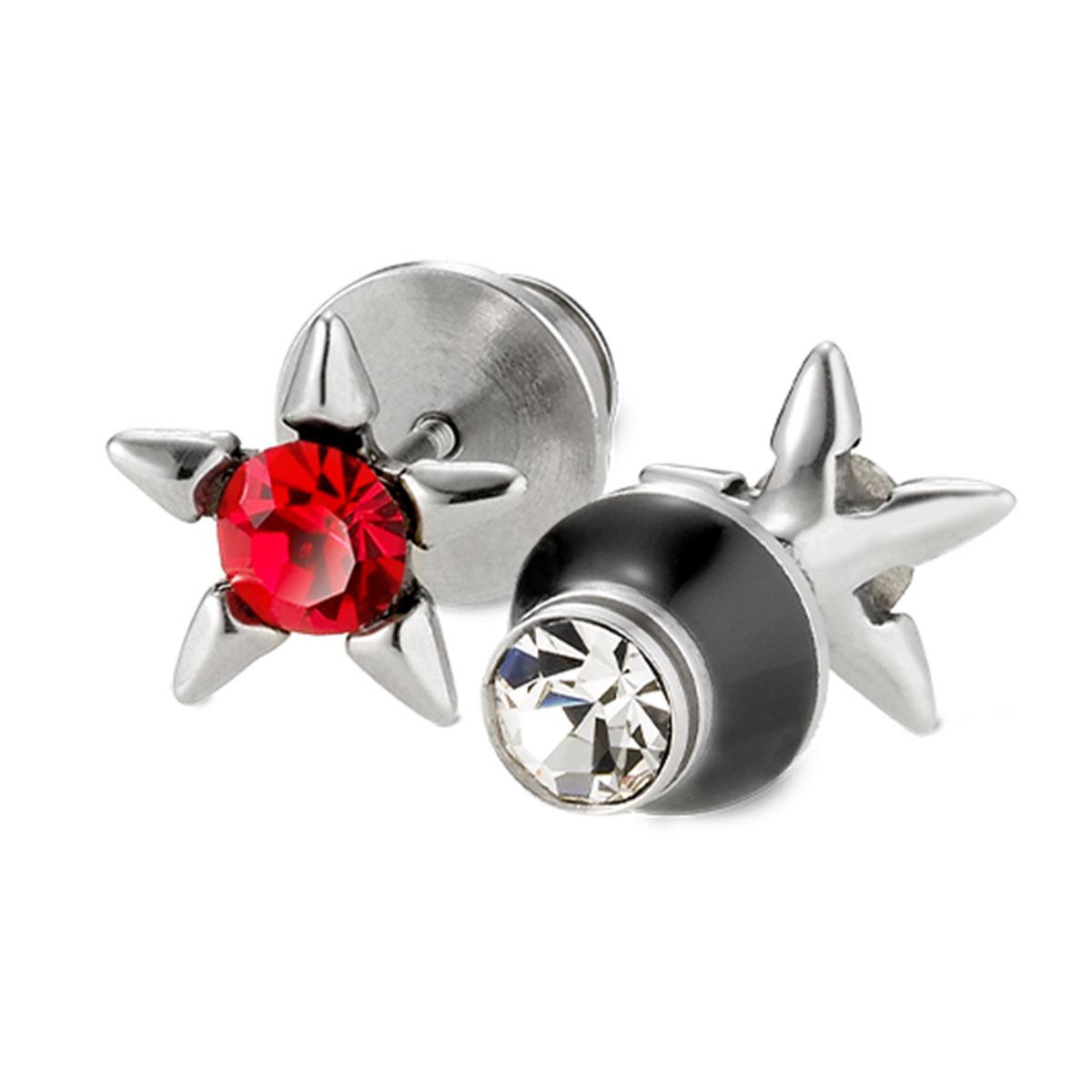 EA186 星射光芒造型耳環/單隻販售