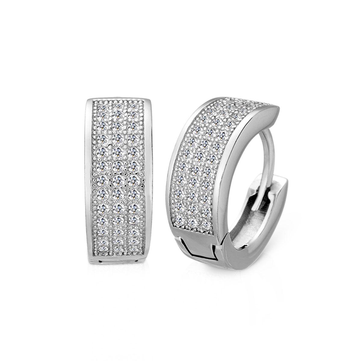 ED105 簡約氣質環扣耳環/一對販售