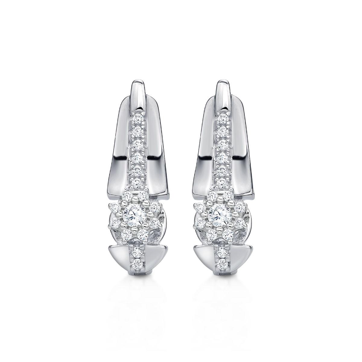 ED153 璀璨軌跡-經典高貴奢華耳環/一對販售