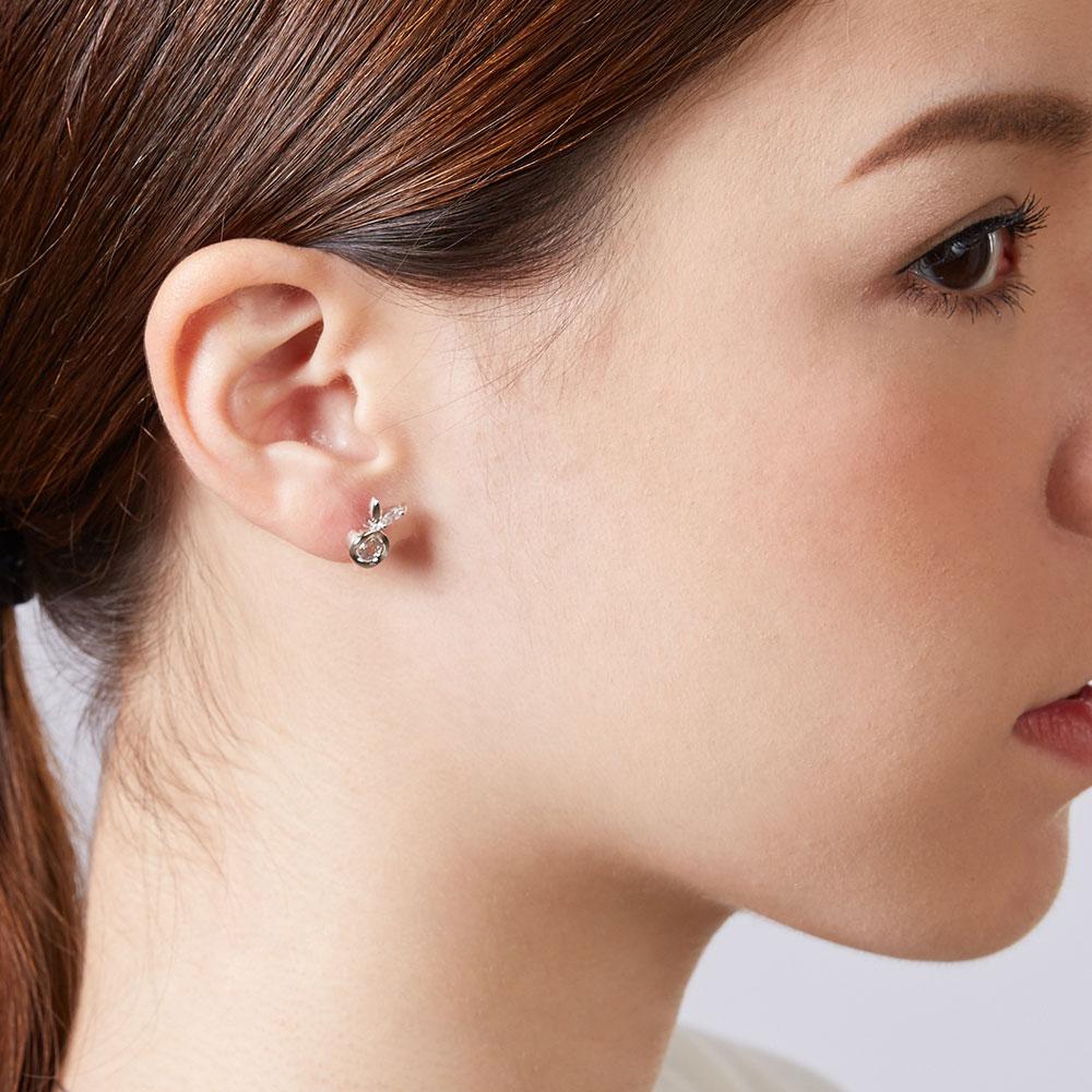 ED53 蘋果兔造型耳環/一對販售