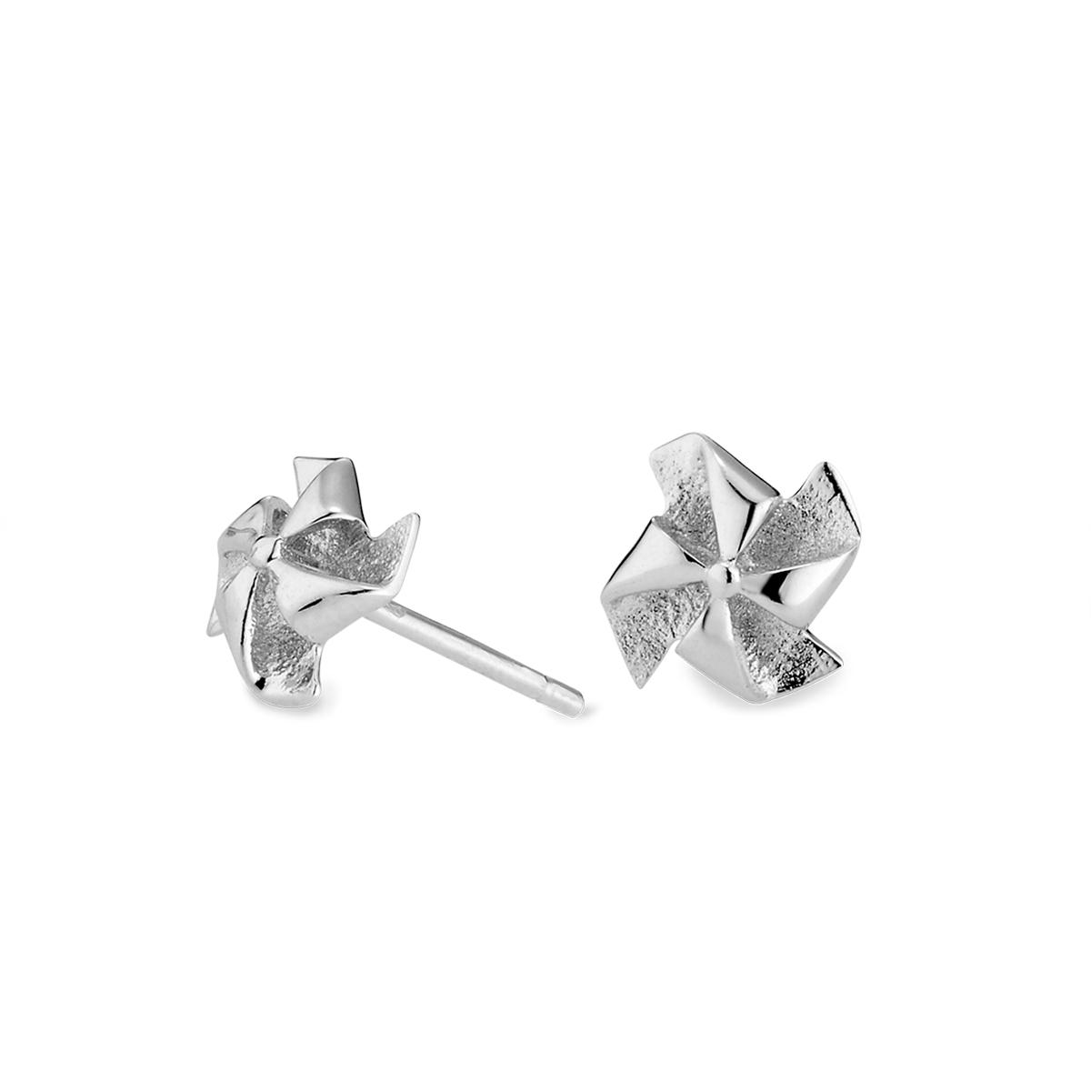 ES123 美好日常-轉運風車耳環/一對販售