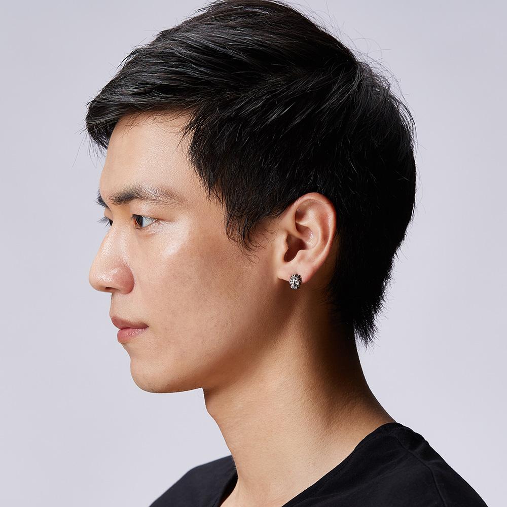 ES15 豹王造型耳環/單隻販售
