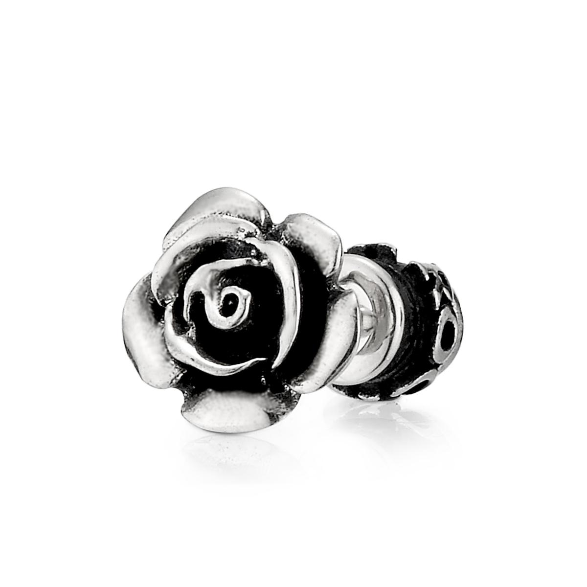 ES18 玫瑰造型耳環/單隻販售