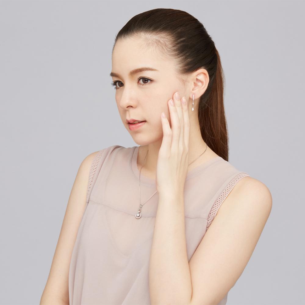 ES2 聆聽垂鑽設計耳環/一對販售