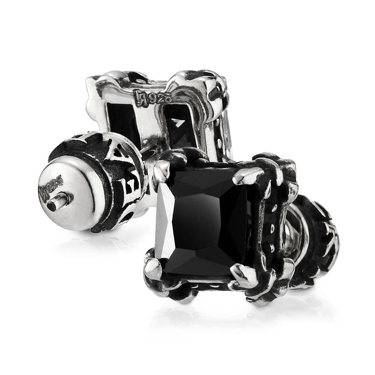 ES47 爪扣方形耳環/單隻販售