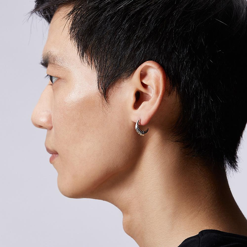 ES70 龍之盔甲耳環/單隻販售