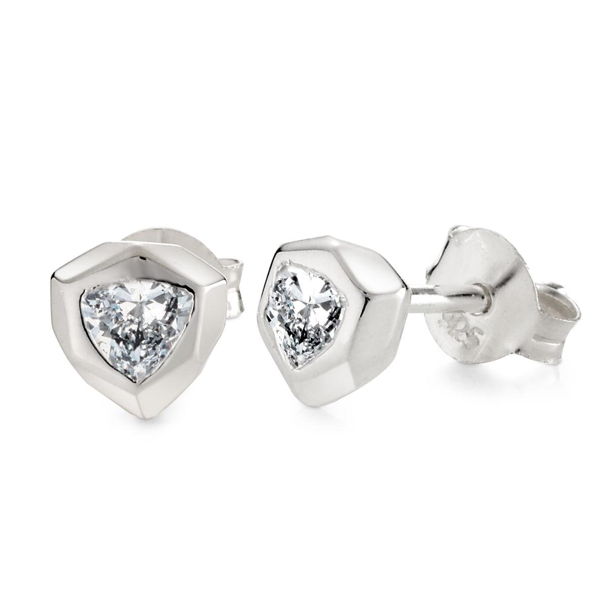 ES75 閃耀盾牌耳環/單隻販售