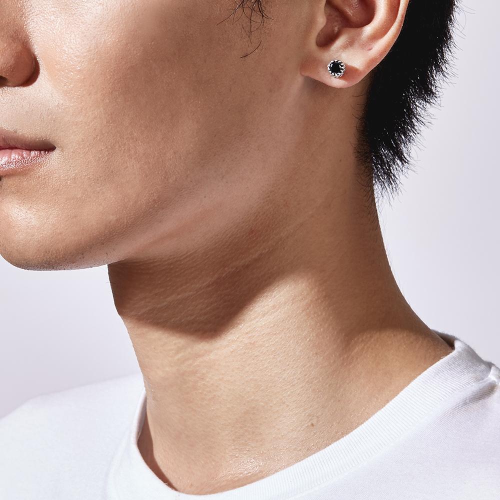 ES77 繩紋時代個性耳環/單隻販售