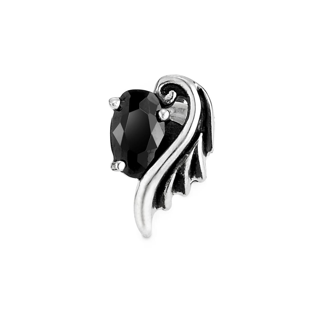 ESF65 呵護羽翼單鑽耳環/單隻販售