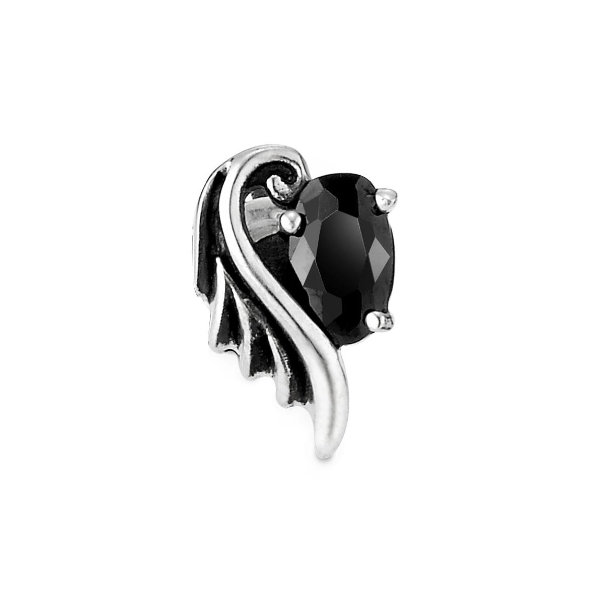 ESM65 呵護羽翼單鑽耳環/單隻販售