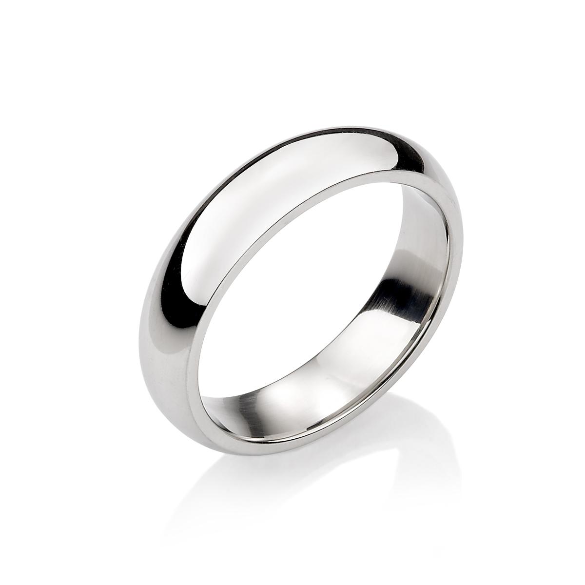 KIF159 經典素面弧面戒指