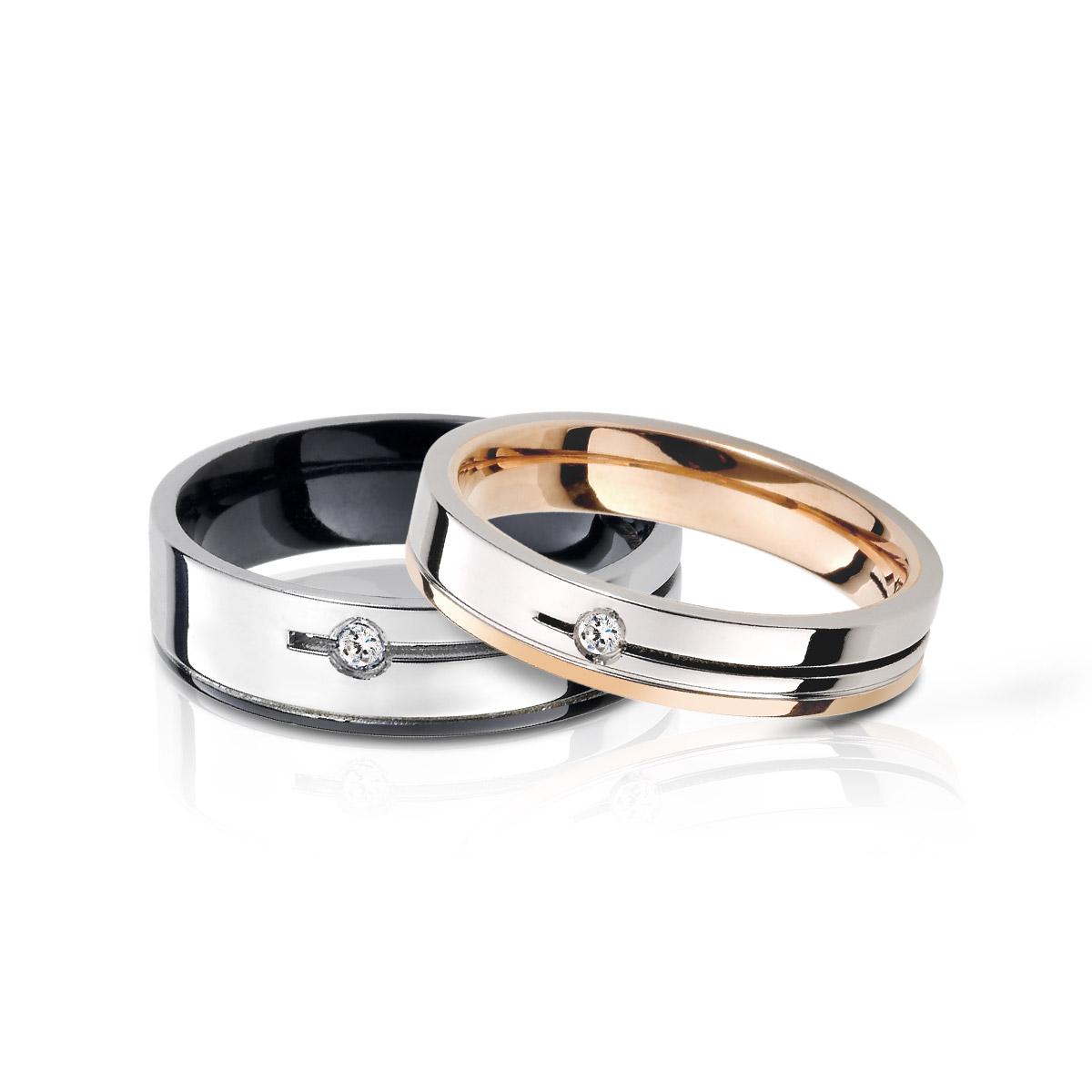 KIH239 經典耀眼情侶戒指