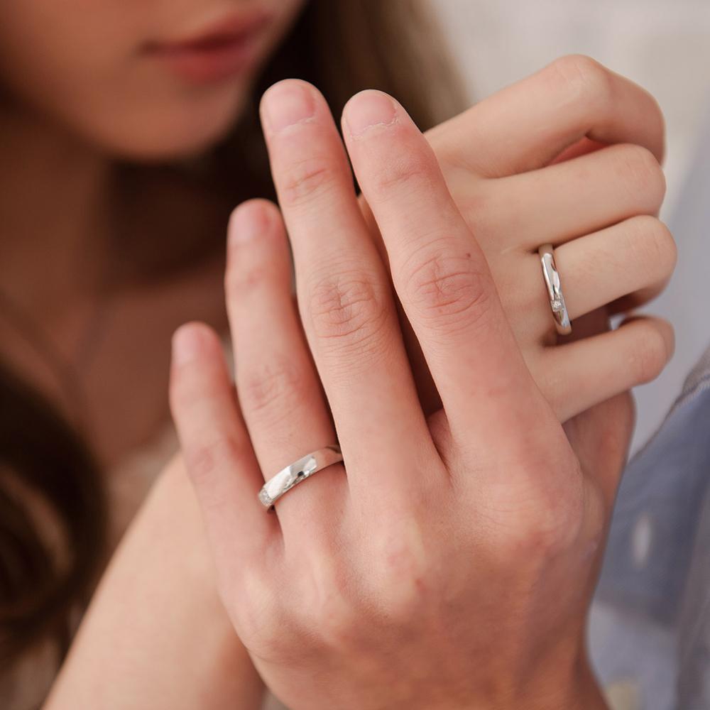 KIM333 簡單愛情簡約戒指/尾戒