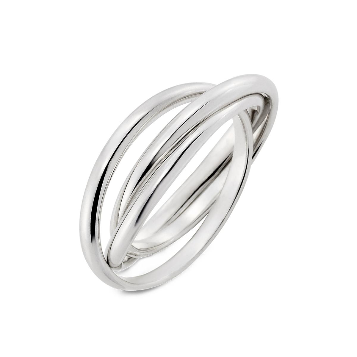 KSM119 簡約哲學-專屬三環簡約戒指