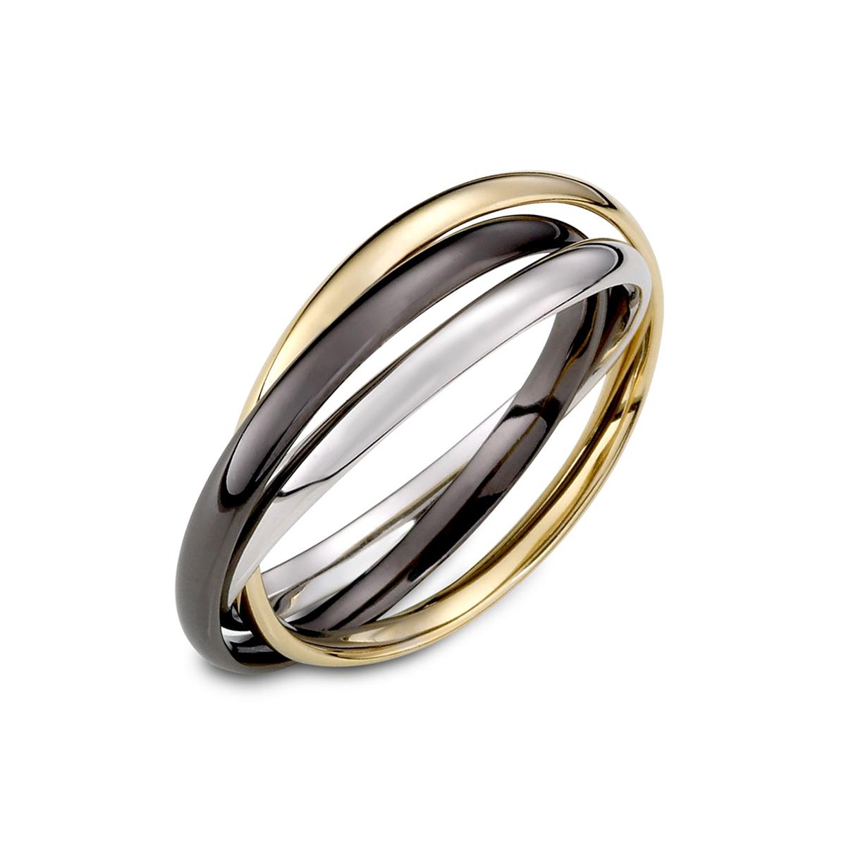 KSM121 精彩每一天三環戒指