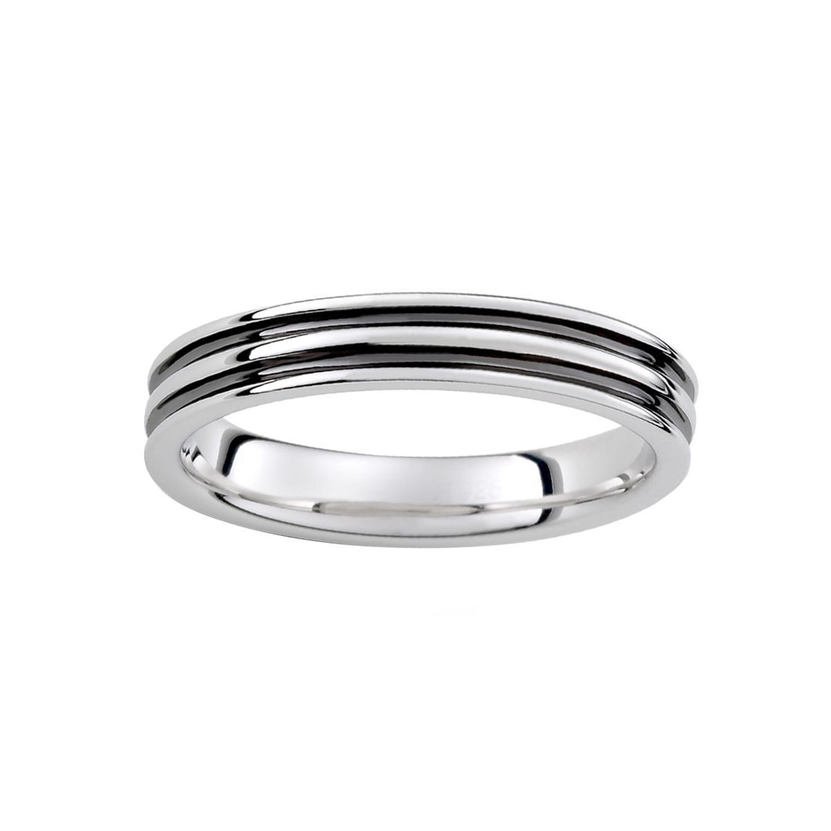 KSM126 秘密雙層線條戒指