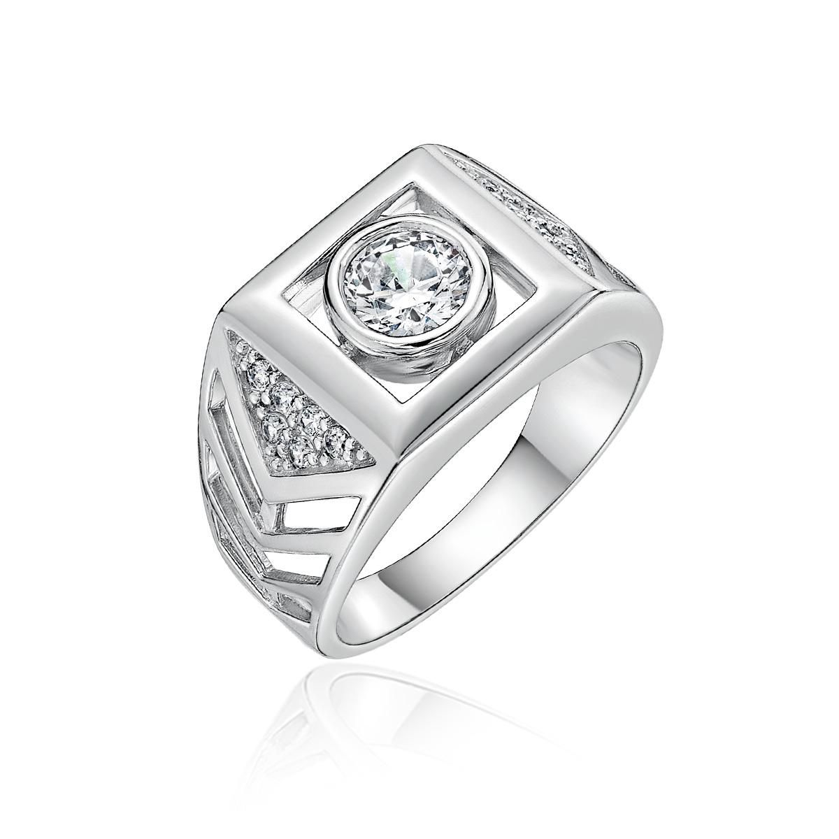 KSM16 璀璨軌跡-個性方圍鑽石戒指