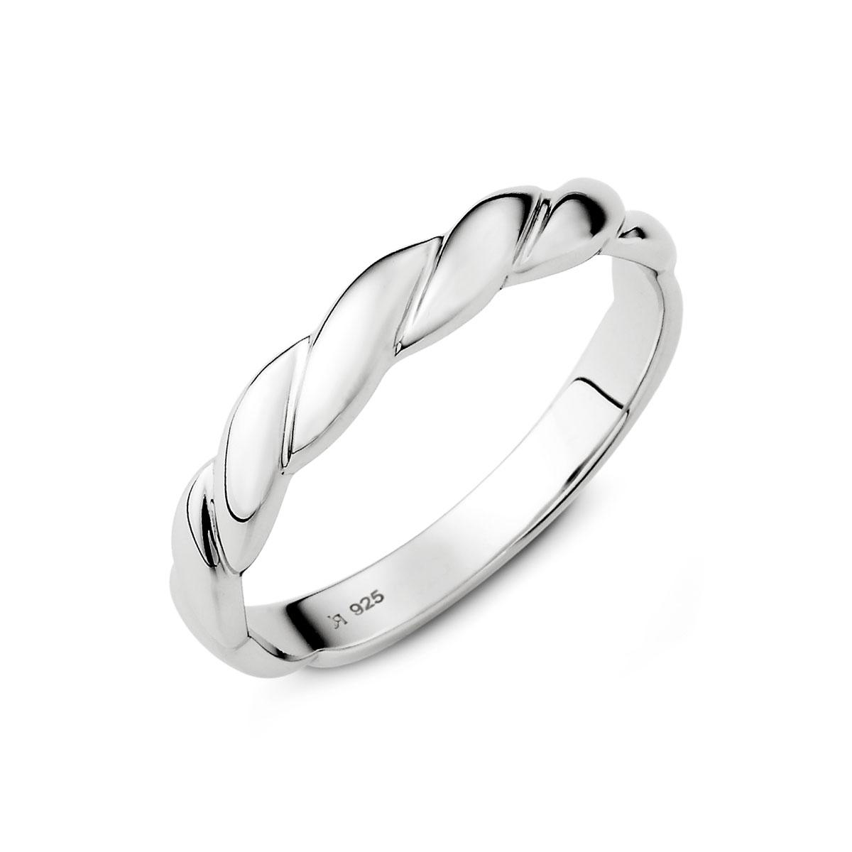 KSM47 愛交織捲花設計感戒指