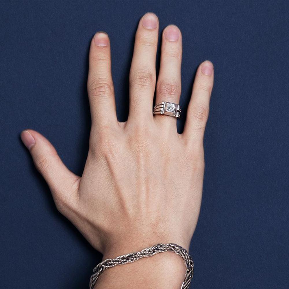 KSM6 紳士的品格型男戒指