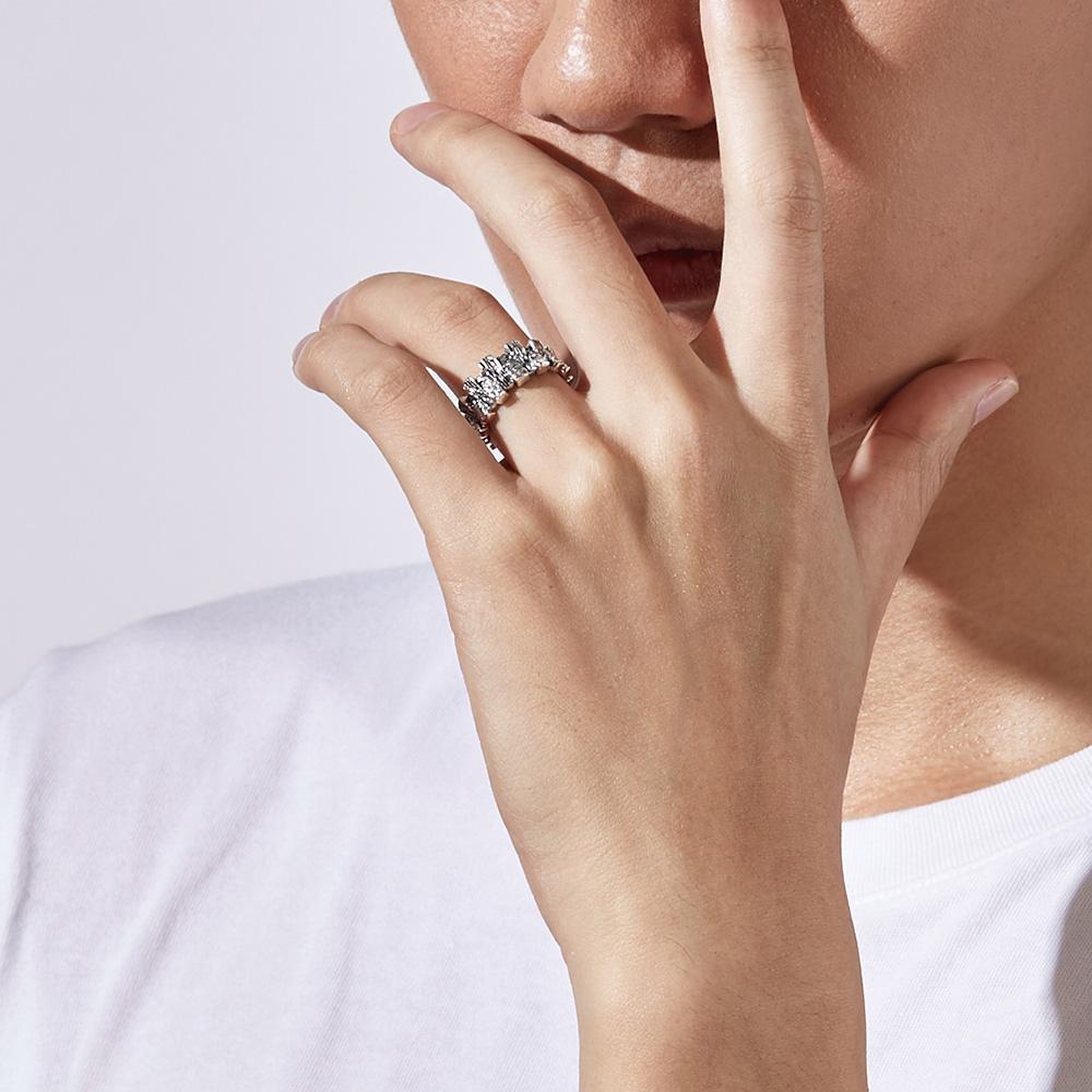 KSM97 硫化黑色王子個性戒指