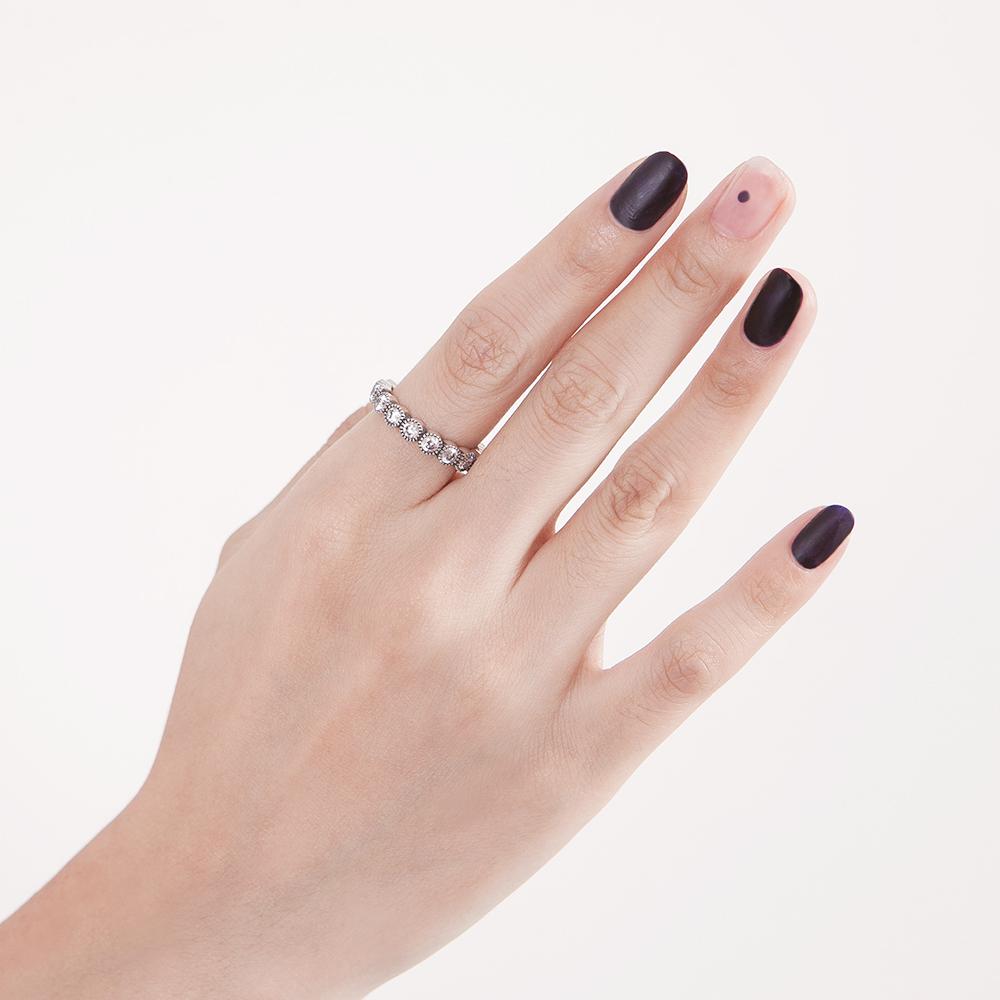 KSW138 復古染黑戒指