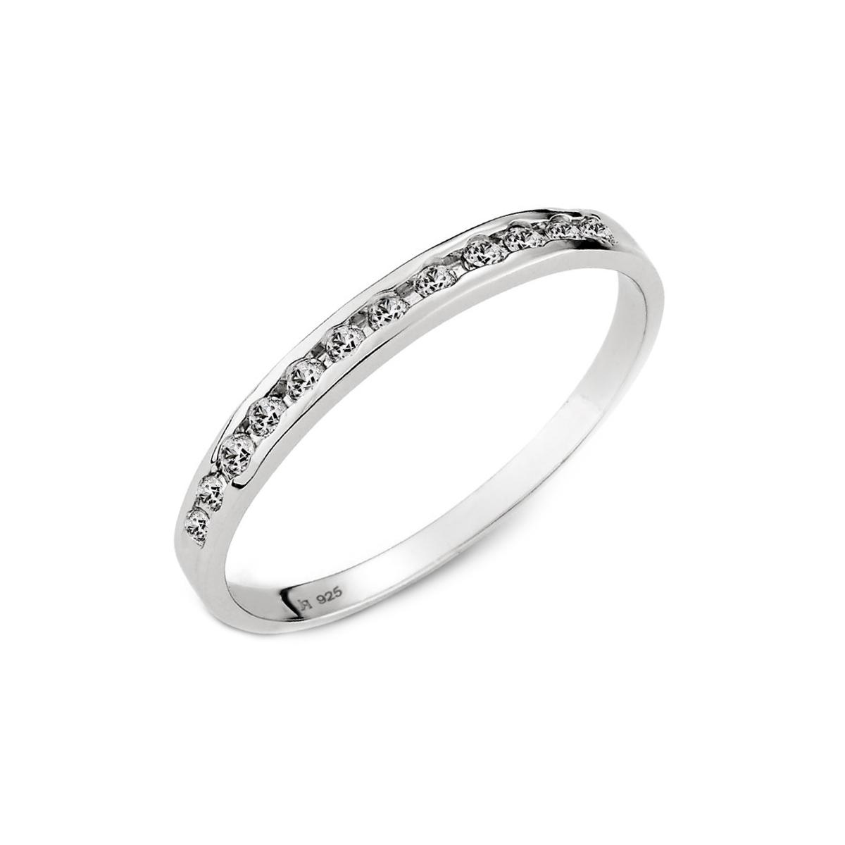 KSW268 戀愛節奏細款排鑽戒指