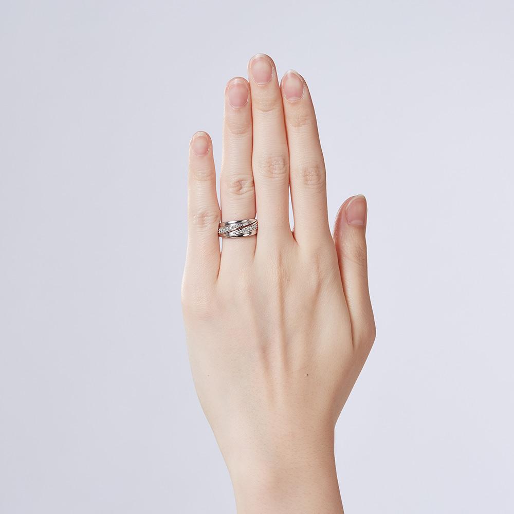 KSW299 璀璨軌跡-名媛氣質奢華戒指