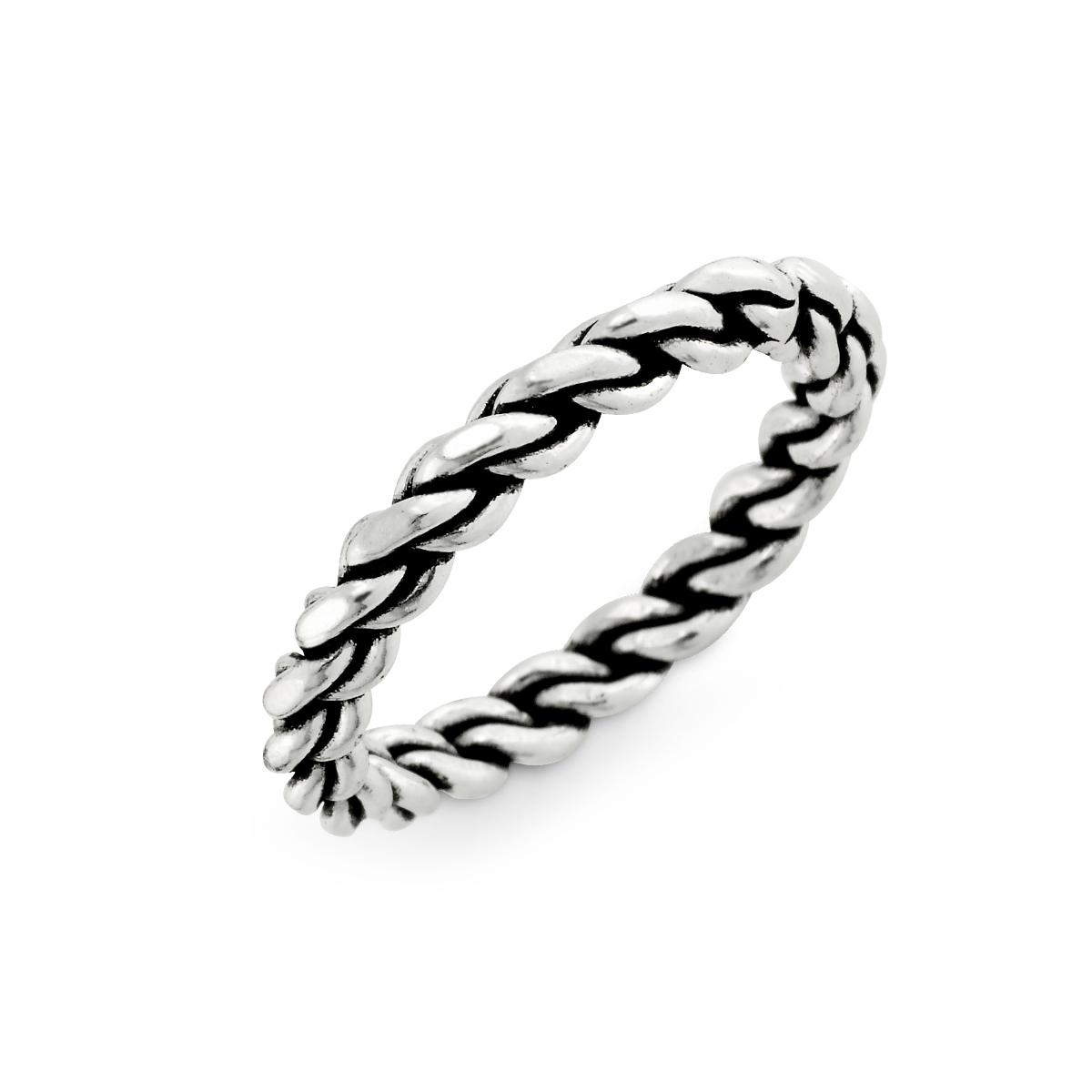 KSW315 經典麻花-姊妹款個性麻花戒指