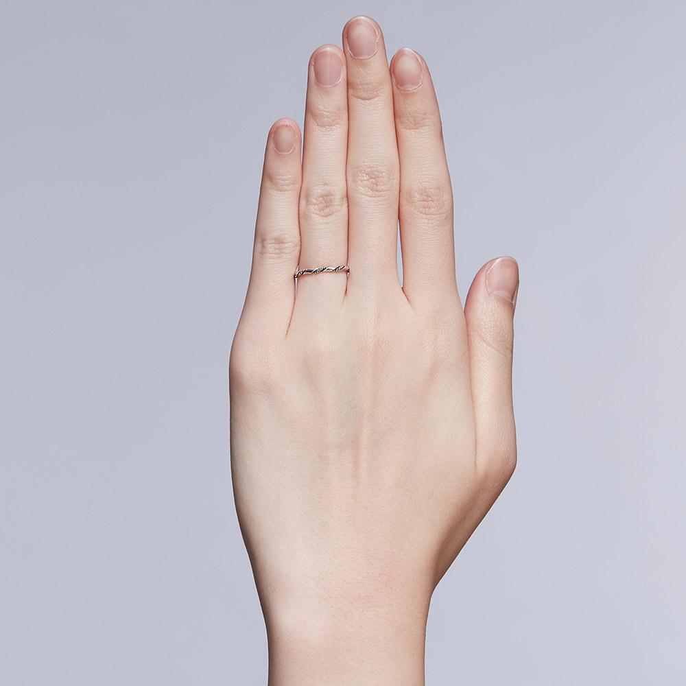 KSW323 經典麻花-簡約麻花戒指