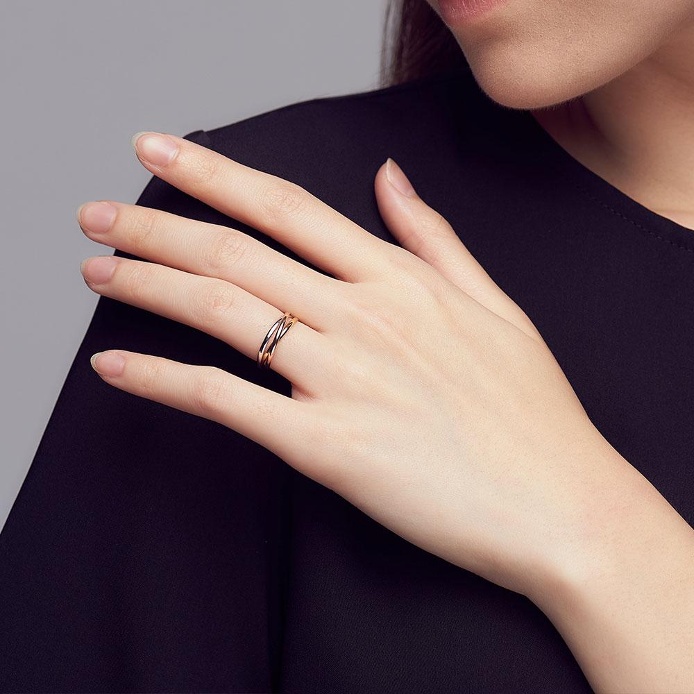 KSW344 精彩每一天三環戒指