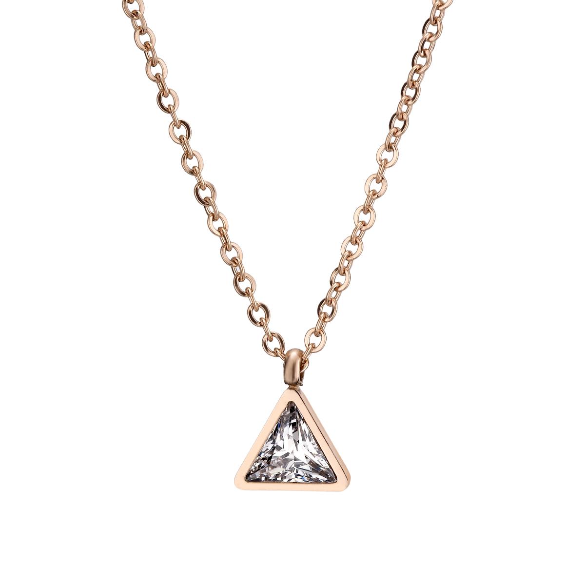 A428 三角飯糰項鍊
