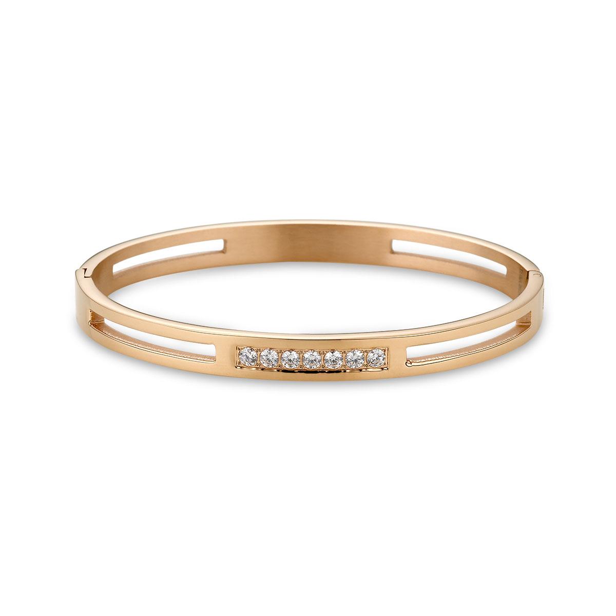 C41 銀色幻想氣質鑲鑽手環
