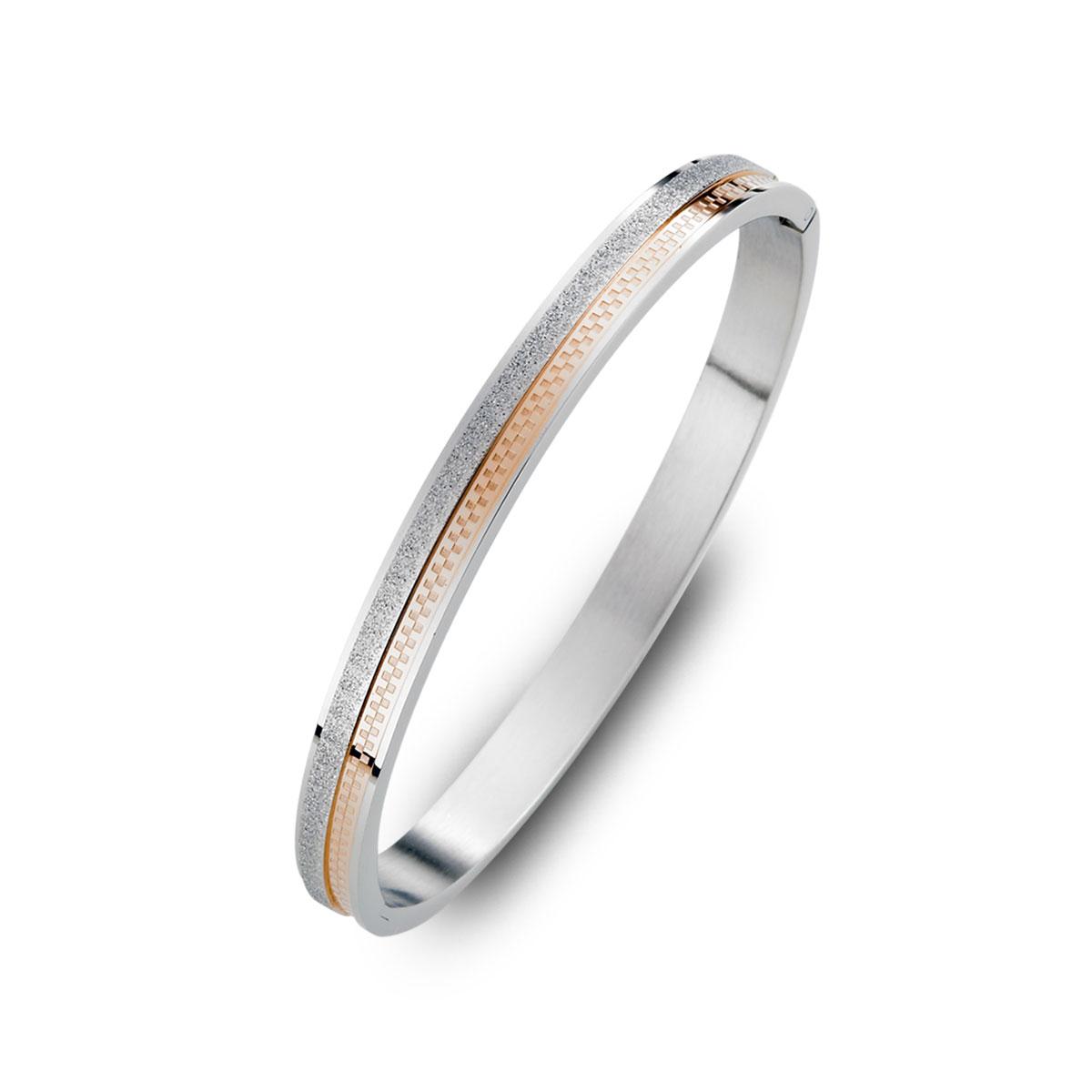 CIF118 低調閃格子時尚手環
