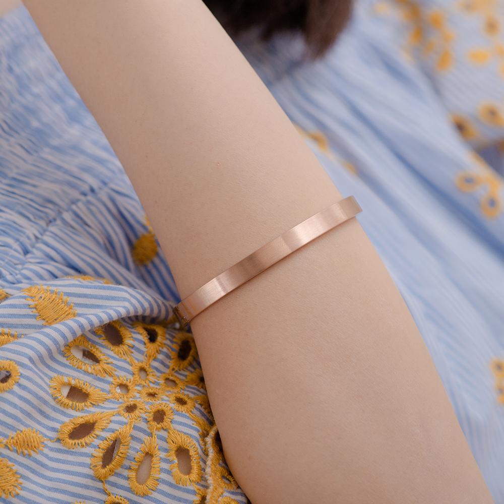 CIF177 堅定的愛西德鋼手環