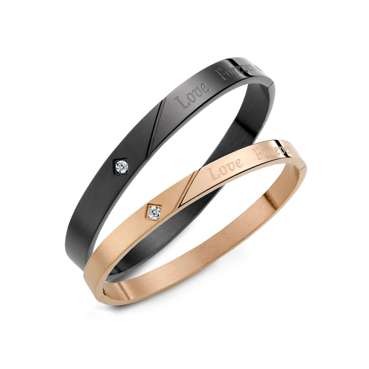 CIH127 愛無止盡典雅單鑽情人手環
