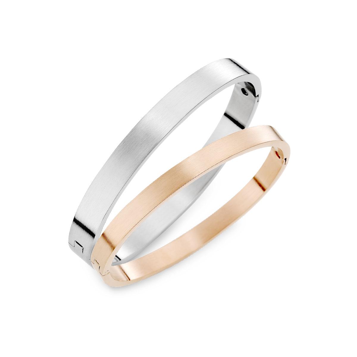 CIH177 堅定的愛西德鋼情侶手環