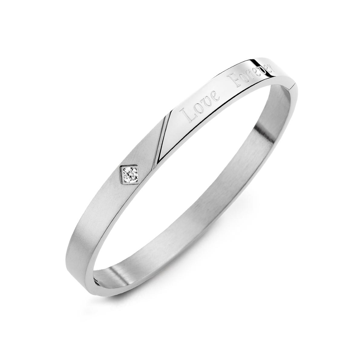 CIM127 愛無止盡典雅單鑽手環