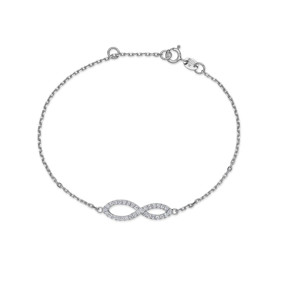 CS50 璀璨軌跡-八字形無限奢華手鍊
